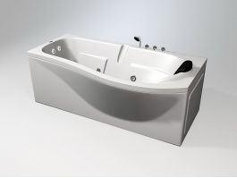 Whirlpool Jetted Tub 3d preview