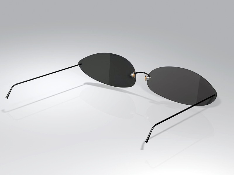 Modern Sunglasses 3d rendering