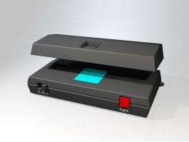 Money Detector Machine 3d model preview