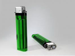 Disposable Plastic Lighter 3d preview
