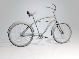 Vintage Bicycle 3d preview