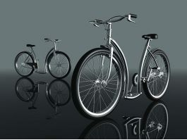 Womens Cruiser City Bike 3d preview