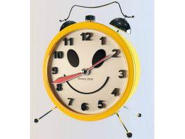 Yellow Alarm Clock 3d preview