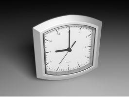 Small Desk Clock 3d preview