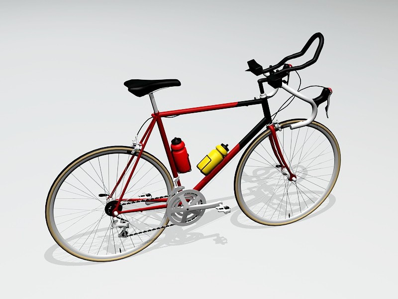 Gitane Racing Bike 3d rendering
