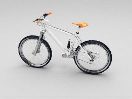21 Speed Mountain Bike 3d preview
