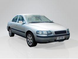 Low Poly Sedan Car 3d preview