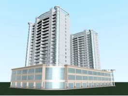 Residential Complex 3d preview