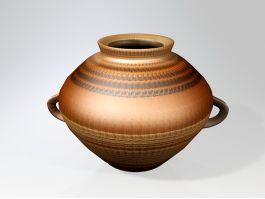 Pottery Pot 3d preview