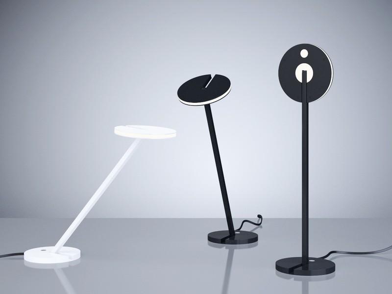 Artemide Itis Table Lamps 3d rendering