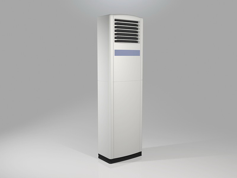 Free Standing Air Conditioner 3d rendering