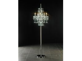Chandelier Floor Lamp 3d preview