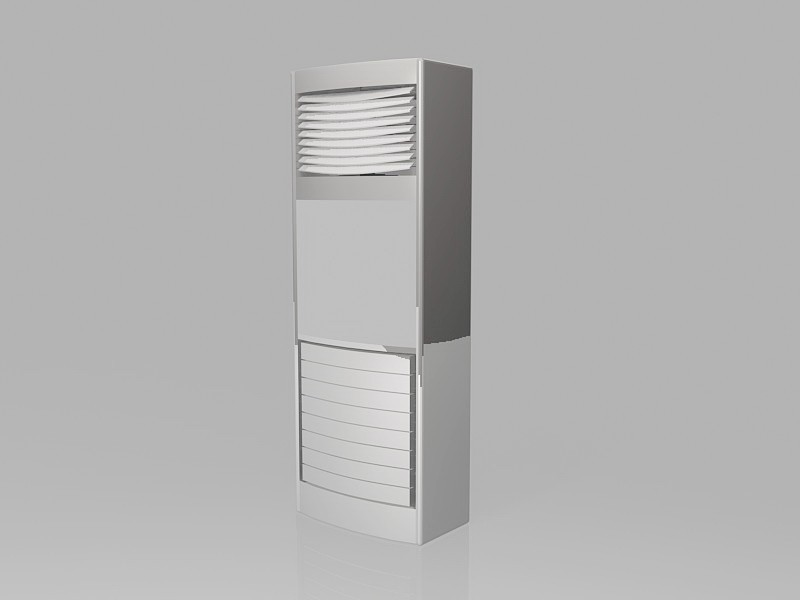 Standing AC Units 3d rendering