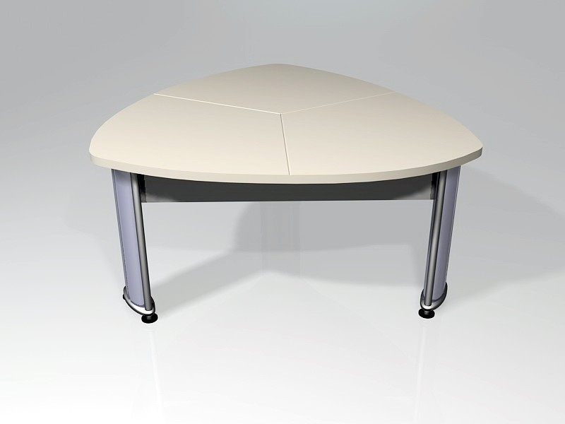 Small Conference Table 3d rendering
