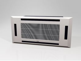 Window Mounted Air Conditioner 3d preview