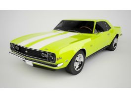 Chevrolet Camaro Muscle Car 1967 3d preview