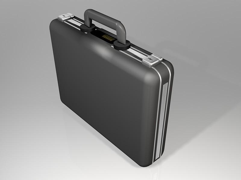 Office Handbag 3d rendering