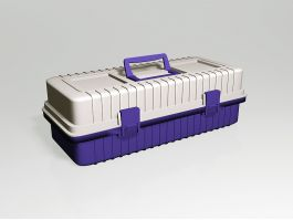 Plastic Tool Box 3d preview