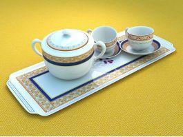 Cupset Tea Set 3d preview