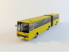 Ikarus 280 Articulated Bus 3d preview