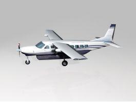 Cessna 208 Caravan Utility Aircraft 3d preview
