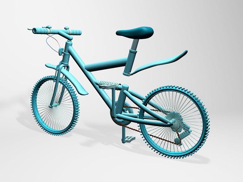 Professional Mountain Bike 3d rendering
