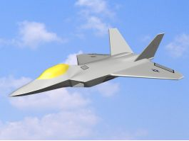 F-22 Raptor Stealth Air Superiority Fighter 3d preview