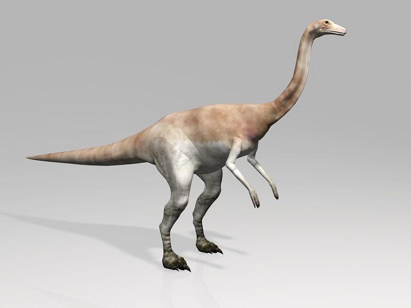 Jurassic Gallimimus Dinosaur 3d rendering