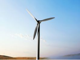 Onshore Horizontal Axis Wind Turbine 3d model preview