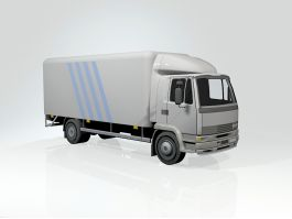 DAF Cargo Truck 3d preview