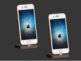iPhone 7 with Charging Stand 3d preview