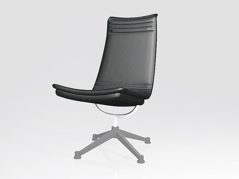 Swivel Chair for Home Office 3d rendering