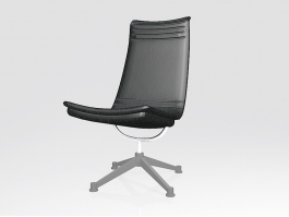 Swivel Chair for Home Office 3d preview