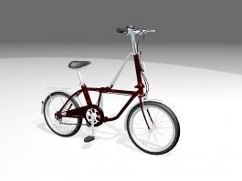 Boy's Bike 3d preview