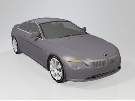 BMW 6 Series Sedan 3d preview