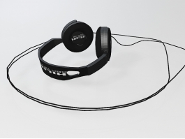 Philips Earphone 3d preview