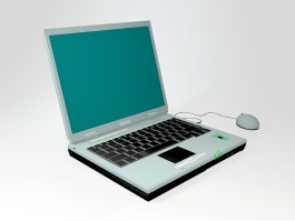 Old Asus Laptop 3d preview