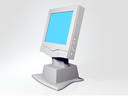 All-in-One Computer 3d preview