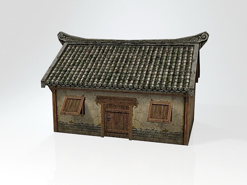 Ancient Chinese Dwelling 3d rendering