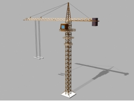 Tower Crane Lifting 3d preview