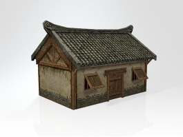 Ancient Chinese Dwelling 3d preview