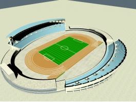 Track and Field Stadium 3d preview