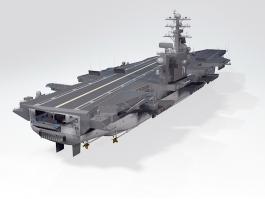 USS John Stennis Aircraft Carrier 3d preview