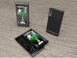 Motorola Milestone XT720 Smartphone 3d preview