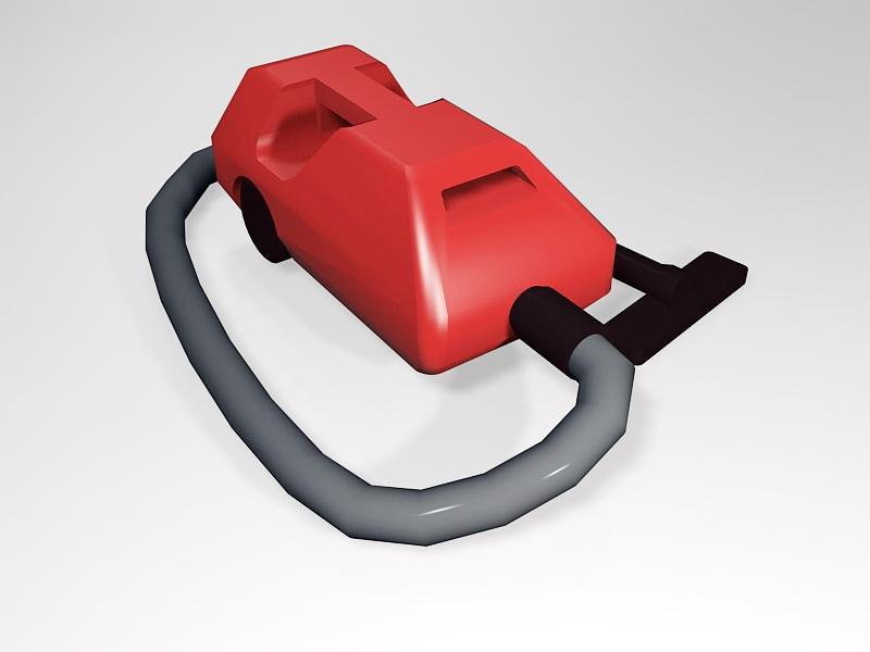 Hoover Vacuum Cleaner 3d rendering
