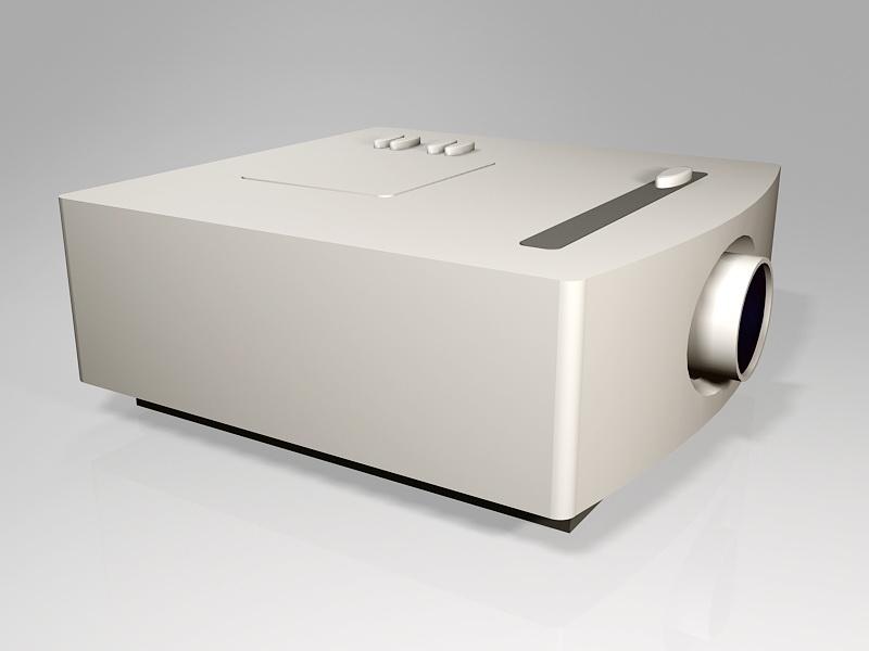 Home Cinema Projector 3d rendering