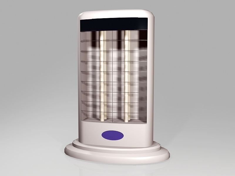 Portable Electric Heater 3d rendering