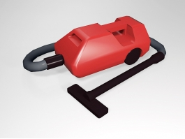 Hoover Vacuum Cleaner 3d model preview