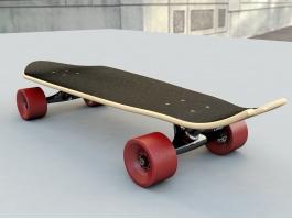Mini Cruiser Skateboard 3d preview