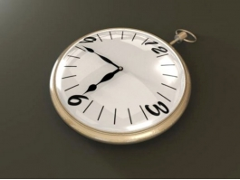 Old Pocket Watch 3d preview